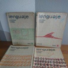 Libros de segunda mano: LENGUAJE EDITORIAL TEIDE 3° 4° 6° Y 7° EGB. Lote 170187377
