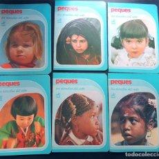 Libros de segunda mano: 6 CUADERNOS / PEQUES - UNICEF - LOS DERECHOS DE LOS NIÑOS / CENTAURO / AÑO 1979 / SIN USAR. Lote 170288604
