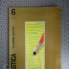 Libros de segunda mano: LIBRO DE TEXTO PLÁSTICA EDUCACIÓN ARTÍSTICA. Lote 170424993