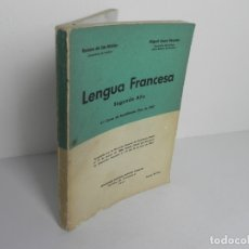 Livres d'occasion: LENGUA FRANCESA SEGUNDO AÑO 3ER CURSO DE BACHILLERATO (EDICIONES DAIMON 1967. Lote 170583570