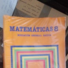 Libros de segunda mano: MATEMÁTICAS 8 EGB EDITOR SANTILLANA ,1983. Lote 170714085