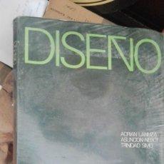 Libros de segunda mano: LIBRO DISEÑO B.U.P. 2º EDICIONES TARRACO TARRAGONA 1976 ADRIÁN LANUZA ASUNCIÓN NEBOT TRINIDAD SIMO. Lote 170715910
