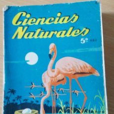 Libros de segunda mano: LIBRO DE CIENCIAS NATURALES 5º BACHILLERATO AÑO 1965. Lote 170966987