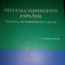 Libros de segunda mano: SISTEMA TRIBUTARIO ESPAÑOL. Lote 171011037