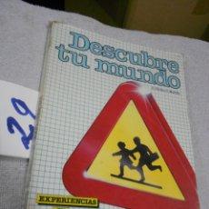 Livros em segunda mão: ANTIGUO LIBRO DE TEXTO - EXPERIENCIAS 2º EGB. Lote 171044484
