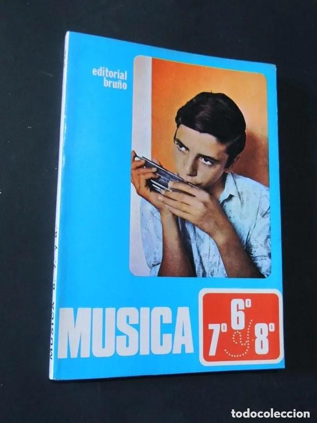 Libros de segunda mano: MUSICA / LIBRO DE TEXTO Y 3 LIBROS FICHAS DE TRABAJO / CURSOS 6 - 7 - 8 E.G.B. / ED. BRUÑO /SIN USAR - Foto 2 - 171055604