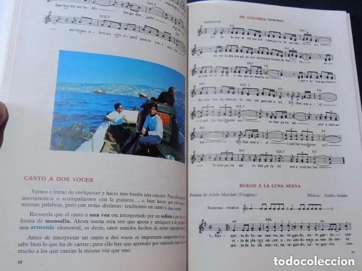 Libros de segunda mano: MUSICA / LIBRO DE TEXTO Y 3 LIBROS FICHAS DE TRABAJO / CURSOS 6 - 7 - 8 E.G.B. / ED. BRUÑO /SIN USAR - Foto 3 - 171055604