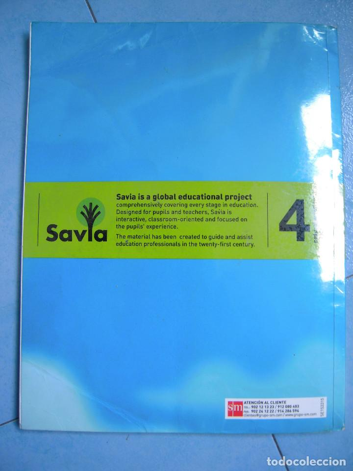 natural science 4º primary savia sm - Comprar Libros de