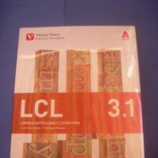 Libros de segunda mano: LENGUA CASTELLANA Y LITERATURA 3 3º ESO SECUNDARIA. VICENS VIVES. LIBRO DE TEXTO, ESCOLAR. PRECINTAD. Lote 171255465