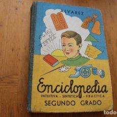 Libros de segunda mano: ENCICLOPEDIA INTUITIVA SINTÉTICA PRACTICA SEGUNDO GRADO ALVAREZ 1962 MUY BUEN ESTADO . Lote 171367445