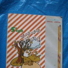 Libros de segunda mano: LIBRO DEL PROFESOR, NATURALEZA, 5º EGB, EDELVIVES 1983. Lote 171407324