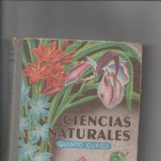 Libros de segunda mano: CIENCIAS NATURALES. QUINTO CURSO.. Lote 171420812