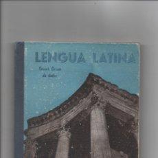 Libros de segunda mano: LENGUA LATINA. JESÚS GARCÍA PASTOR.. Lote 171421107