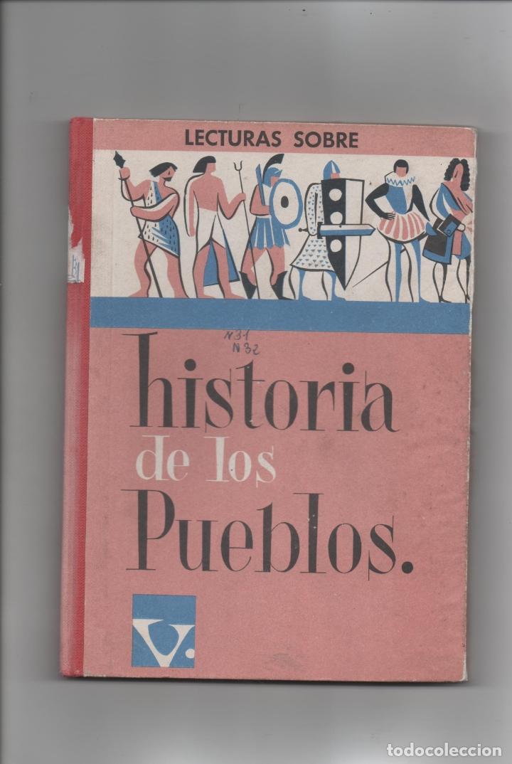 HISTORIA DE LOS PUEBLOS.J. COLLS CARRERAS. (Libros de Segunda Mano - Libros de Texto )