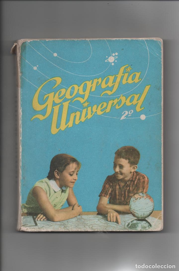 GEOGRAFÍA UNIVERSAL.ANTONIO M. ZUBIA, S.M. (Libros de Segunda Mano - Libros de Texto )