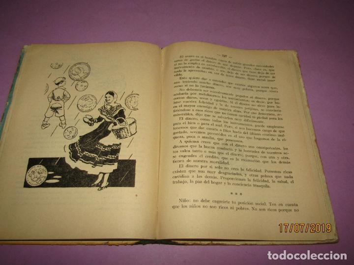 Libros de segunda mano: Antiguo Libro de Escuela HÉROES de Antonio J. Onieva y Editorial Hijos de Santiago Rodriguez - 1959 - Foto 2 - 172009498