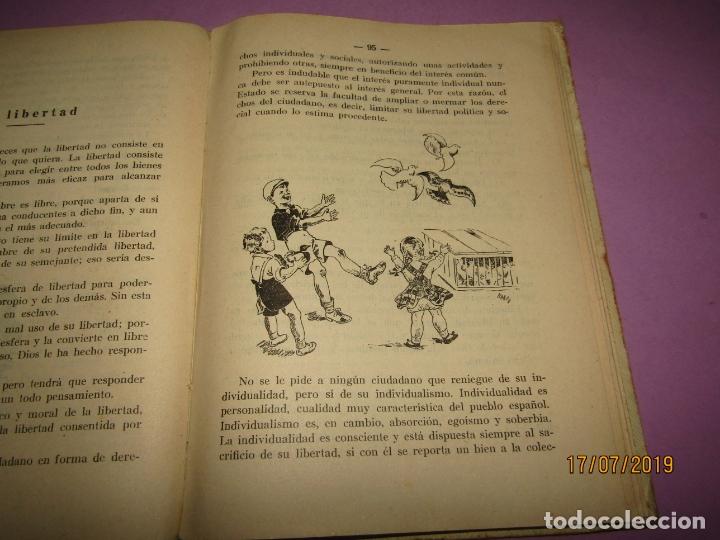 Libros de segunda mano: Antiguo Libro de Escuela HÉROES de Antonio J. Onieva y Editorial Hijos de Santiago Rodriguez - 1959 - Foto 4 - 172009498