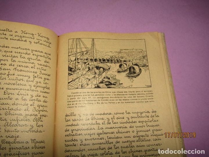 Libros de segunda mano: Antiguo Libro de Escuela TIERRAS Y PUEBLOS de Alberto Montana y Editorial Miguel A. Salvatella -1958 - Foto 2 - 172009830