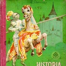 Libros de segunda mano: EDELVIVES : HISTORIA DE ESPAÑA PRIMER GRADO (1956). Lote 172226735