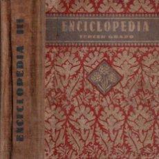 Libros de segunda mano: EDELVIVES ENCICLOPEDIA TERCER GRADO 1940. Lote 172228519