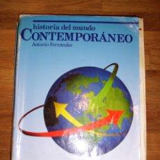 Libros de segunda mano: FERNÁNDEZ, ANTONIO. HISTORIA DEL MUNDO CONTEMPORÁNEO. C.O.U. - 3ª ED.. Lote 173012148
