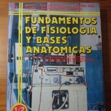 Libros de segunda mano: FUNDAMENTOS DE FISIOLOGIA Y BASES ANATÓMICAS, EVEREST FP2, 1992. Lote 173031772