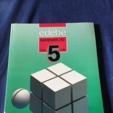 Libros de segunda mano: LIBRO MATEMÁTICAS EGB. Lote 173045927