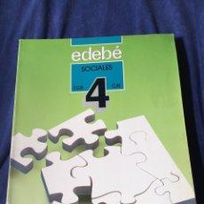 Libros de segunda mano: LIBRO EGB SOCIALES. Lote 173046358