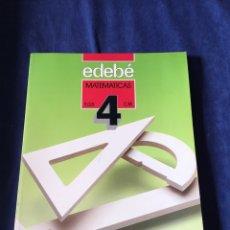 Libros de segunda mano: LIBRO EGB MATEMÁTICAS. Lote 173047434