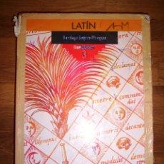 Libros de segunda mano: SEGURA MUNGUÍA, SANTIAGO. LATÍN. BACHILLERATO 3. - ANAYA, D.L. 1991. Lote 173092463