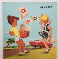 Libros de segunda mano: CUADERNO MI CARTILLA – PRIMERA PARTE – ALVAREZ – 1966. Lote 173812374