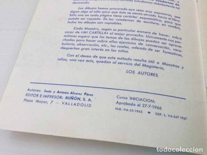 Libros de segunda mano: Cuaderno Mi Cartilla – Segunda parte – Alvarez – 1967 - Foto 4 - 173813263