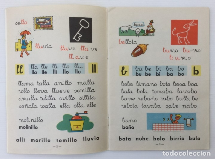 Libros de segunda mano: Cuaderno Mi Cartilla – Segunda parte – Alvarez – 1967 - Foto 6 - 173813263