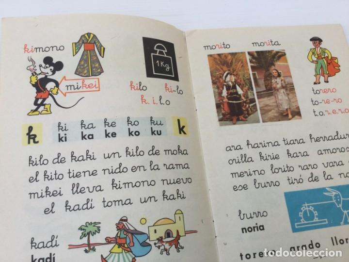 Libros de segunda mano: Cuaderno Mi Cartilla – Segunda parte – Alvarez – 1967 - Foto 8 - 173813263
