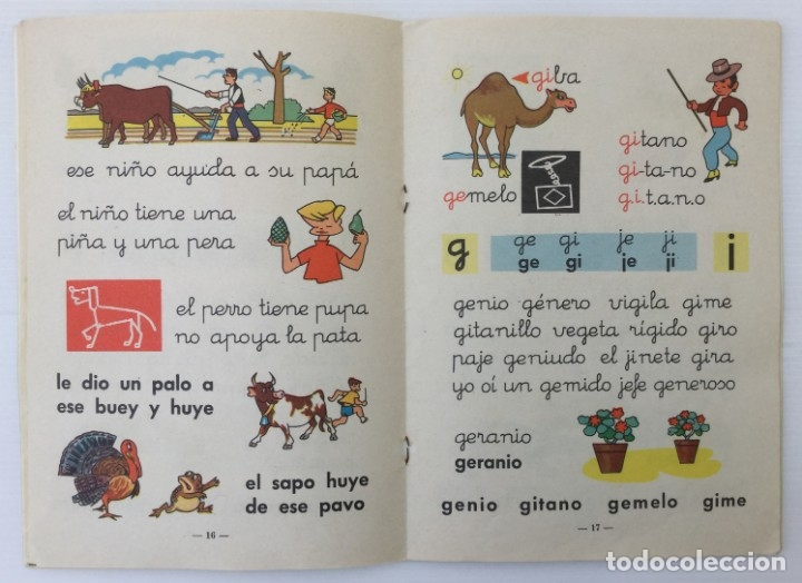 Libros de segunda mano: Cuaderno Mi Cartilla – Segunda parte – Alvarez – 1967 - Foto 10 - 173813263