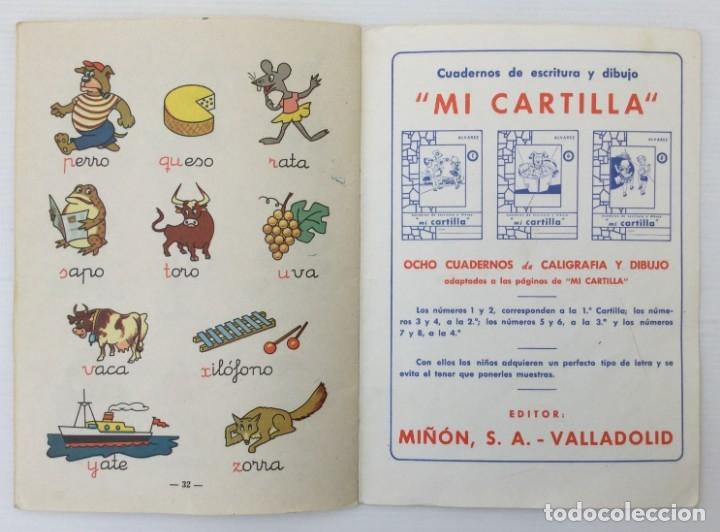 Libros de segunda mano: Cuaderno Mi Cartilla – Segunda parte – Alvarez – 1967 - Foto 13 - 173813263