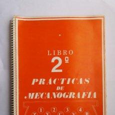 Libros de segunda mano: PRÁCTICAS DE MECANOGRAFÍA. LIBRO 2º. ANTONIO CABALLERO. 1980.. Lote 174167903