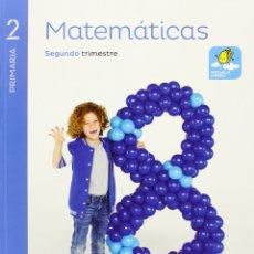 Libros de segunda mano: MATEMATICAS 2 PRIMARIA SABER HACER - PACK DE 3 LIBROS - NUEVOS¡¡¡¡¡. Lote 174377527
