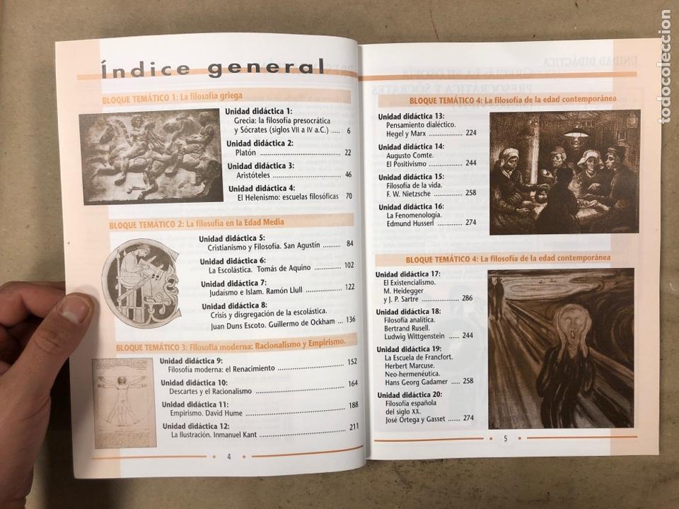 Libros de segunda mano: HISTORIA DE LA FILOSOFÍA. VV.AA. 2º BACHILLERATO HUMANIDADES Y CIENCIAS SOCIALES. EDITEX 1998 - Foto 4 - 174607244