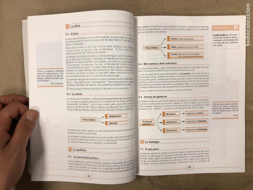 Libros de segunda mano: HISTORIA DE LA FILOSOFÍA. VV.AA. 2º BACHILLERATO HUMANIDADES Y CIENCIAS SOCIALES. EDITEX 1998 - Foto 5 - 174607244
