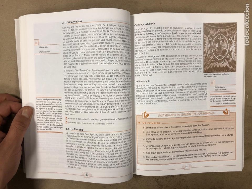 Libros de segunda mano: HISTORIA DE LA FILOSOFÍA. VV.AA. 2º BACHILLERATO HUMANIDADES Y CIENCIAS SOCIALES. EDITEX 1998 - Foto 6 - 174607244