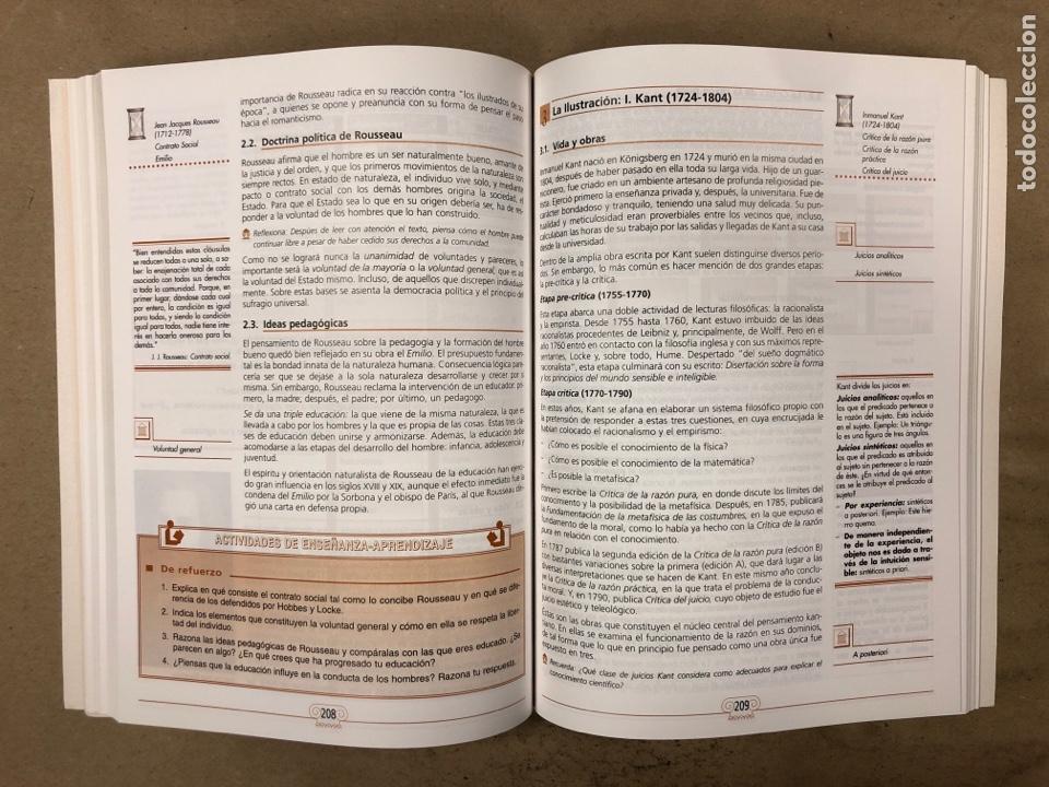 Libros de segunda mano: HISTORIA DE LA FILOSOFÍA. VV.AA. 2º BACHILLERATO HUMANIDADES Y CIENCIAS SOCIALES. EDITEX 1998 - Foto 7 - 174607244
