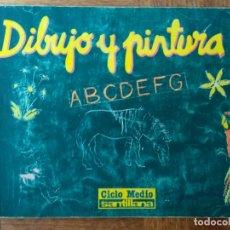 Libros de segunda mano: DIBUJO Y PINTURA 5 - EGB 1988 SANTILLANA. Lote 175013332