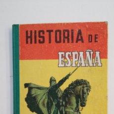 Libros de segunda mano: HISTORIA DE ESPAÑA. GRADO ELEMENTAL. 1961. TDK415. Lote 175023188