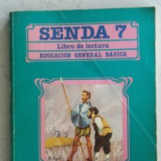 Libros de segunda mano: SENDA 7 LIBRO DE LECTURA EGB SANTILLANA. Lote 175323845