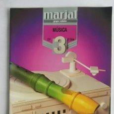 Libros de segunda mano: MÚSICA 3 EP 2° CICLO MARJAL. Lote 175462894