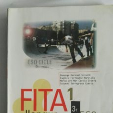 Libros de segunda mano: LLENGUA I LITERATURA FITA 1 3° ESO. Lote 175463789