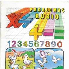 Libros de segunda mano: CUADERNO PROBLEMAS RUBIO * RESTAR SIN LLEVAR *Nº 2 -AÑO 1977. Lote 175518280