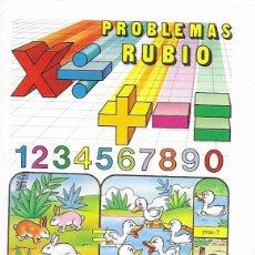 Libros de segunda mano: CUADERNO PROBLEMAS RUBIO * SUMAR, RESTAR.... *Nº 5 A -AÑO 1977. Lote 175518372