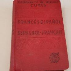Libros de segunda mano: DICCIONARIO CUYÁS FRANCÉS / ESPAÑOL Y ESPAÑOL / FRANCÉS - TDK357. Lote 175675863